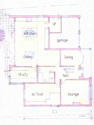 specialists in design for residential extensions, conversions, listed buildings, new builds